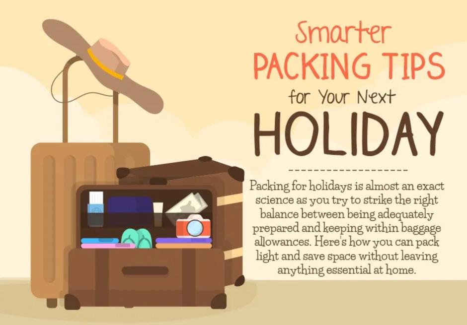 Sfaturi practice pentru un bagaj inteligent. Vacanta ta nu va mai fi la fel.